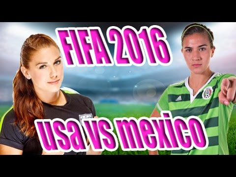 FIFA TIME! WOMEN'S INTERNATIONAL CUP - USA vs MEXICO