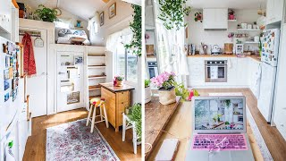 Incredible Beautiful Woman's Dream Tiny House | Wonderfully Designed Home
