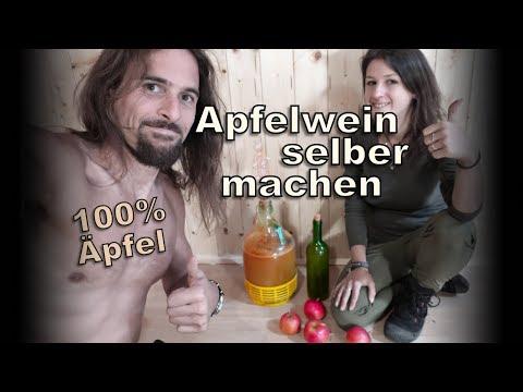 Apfelwein selber machen - aus nur EINER natürlichen Zutat!