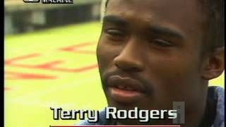 Johnny Rodgers and his son Terry talk about their struggles