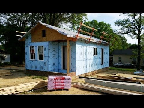 Habitat for humanity tiny house in cabarrus county nc youtube - House habitat ...