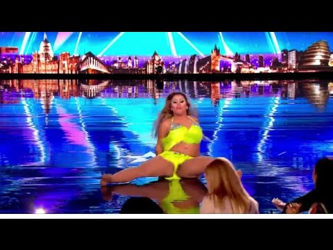 Fat and Feisty Dancer Gets Judges Out Of Their Seat | Auditions 3 | Britain's Got Talent 2017