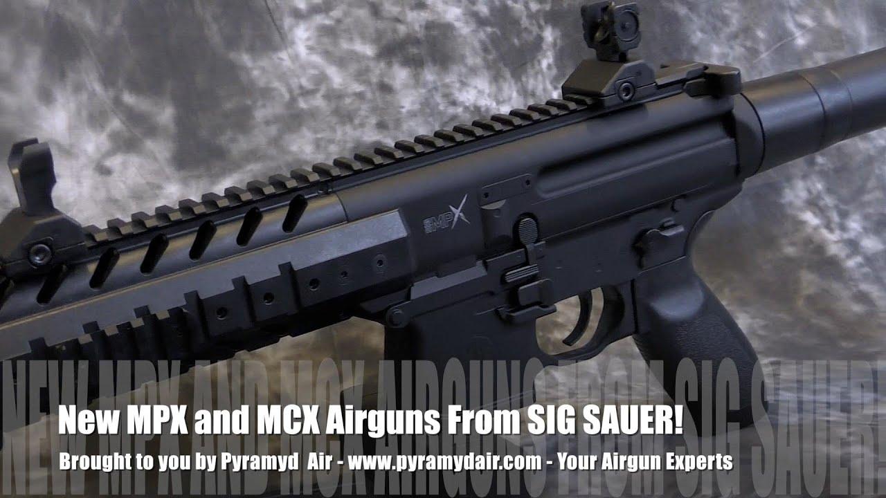 SIG Sauer MCX & MPX Airgun Review - By AirgunWeb