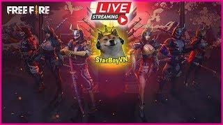 🔴 Free Fire - Bắn ZOMBIE | StarBoyVN