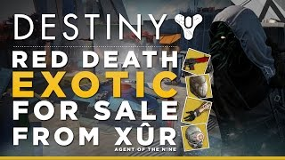 Destiny: Xur Agent Of The Nine Is Finally Selling The