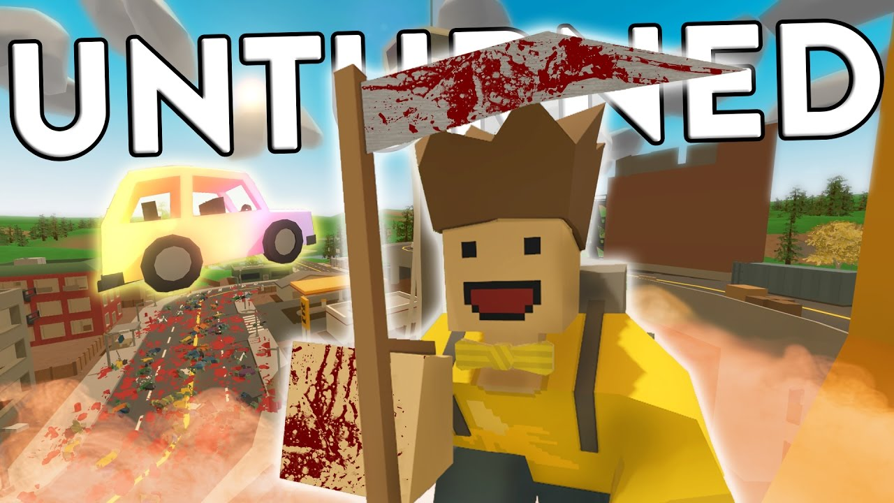 Download Unturned Funny Moments With Friends - FRIENDLY SCYTHES!!!