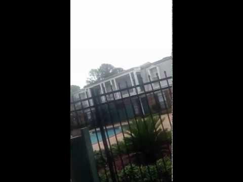 Hurricane Isaac 2012 (the beginning)
