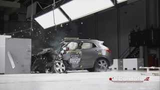 Crash test Small Overlap IIHS - Buick Encore (Opel Mokka, Chevrolet Trax)