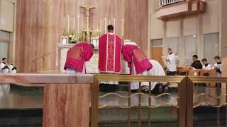 FR. JOSEPH  FAVOLE, FSSP FIRST SOLEMN MASS