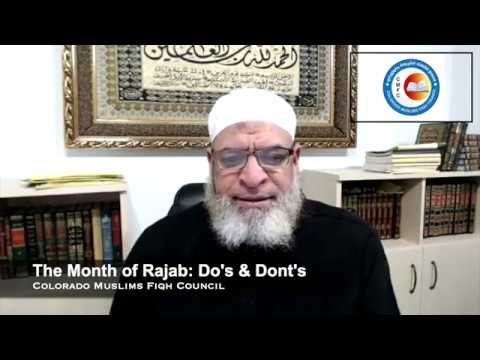 The Month of Rajab: Do's & Dont's || Karim Abuzaid