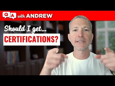 Should I Get Certifications To Help with My Career Change?