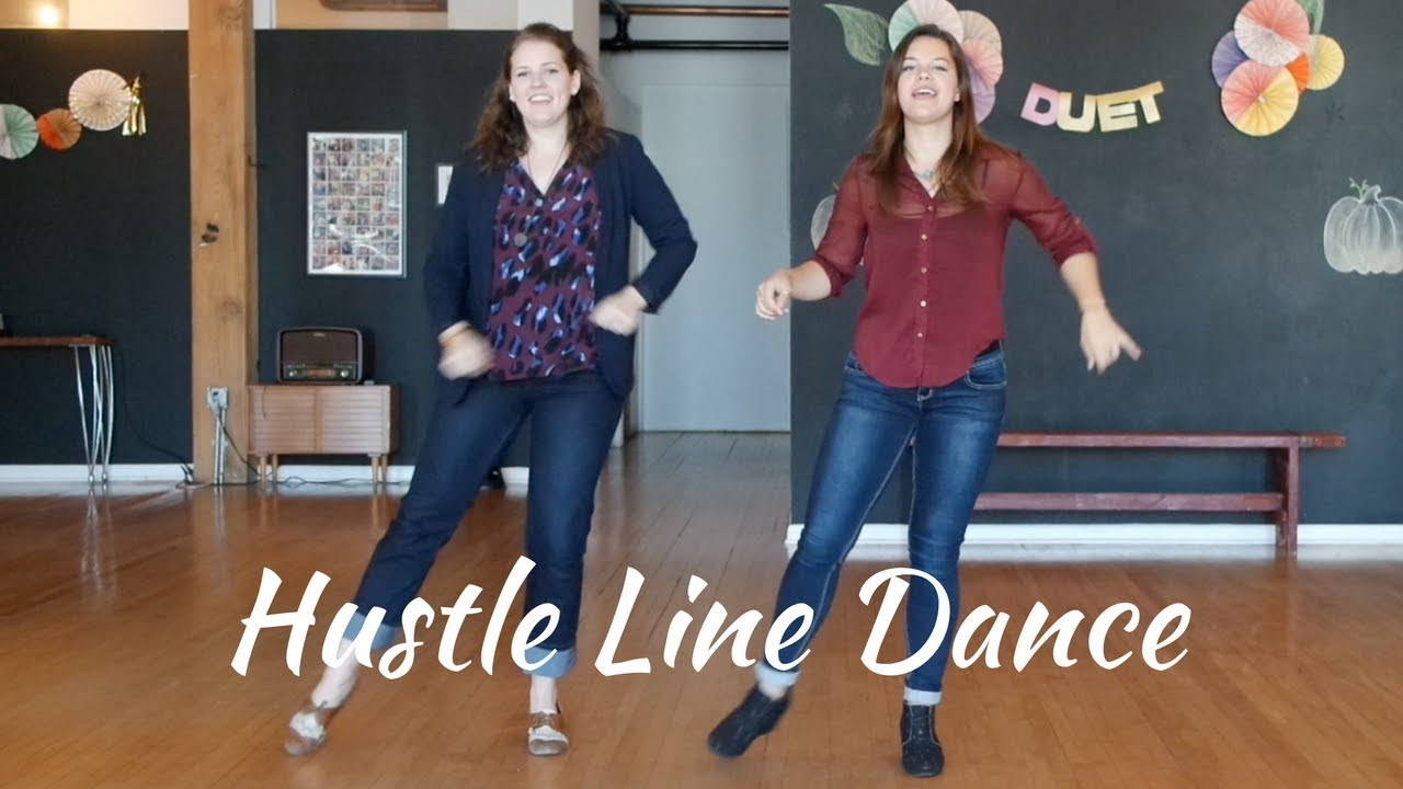 Line Dance 101 Hustle Youtube