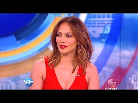 JLO - Chats American Idol & Shades Of Blue (Name That Dance) The View