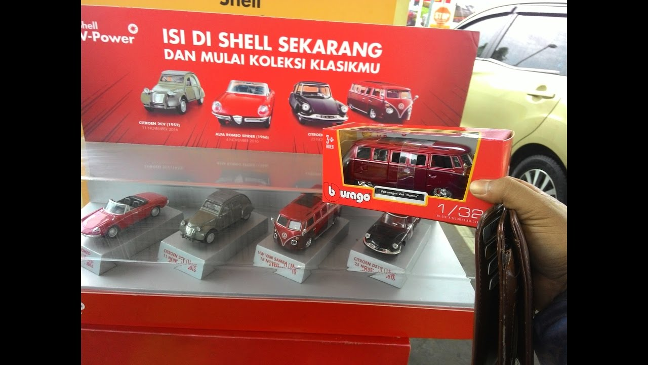 Unboxing Vw Kombi Samba Shell Classic Collection Model Car Youtube