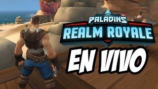 PALADINS REALM ROYALE ALPHA TEST EN VIVO  Gabbonet