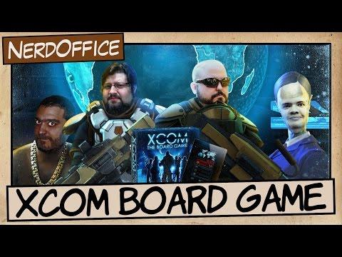 XCOM Board Game   NerdOffice S06E45