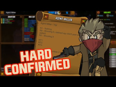 Town Of Salem | HARD CONFIRMED | Town Of Salem Vigilante Gameplay