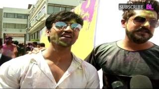 Suyyash Rai | Box Cricket League Holi Party With Ekta Kapoor