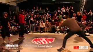 Raw Circles 2013 - Semi Final - Kareem & Tata (USA) Vs Kido & Pickup (NL-ISR)