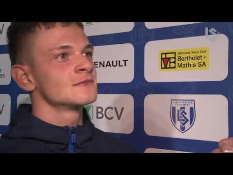 LSTV: Lausanne-Sport - FC Zurich, interview d'après-match avec Mersim Asllani
