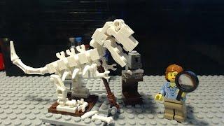 Let´s Build: Lego Ideas 21110 Dinosaurier Skelett / Geologe / Research Institute