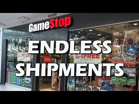 Tales From Retail: GameStop's Endless Shipments