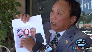 Ông Ngô Kỷ phản đối Đại sứ Ted Osius từ chối chụp hình với cờ vàng (p2)