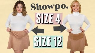Size 4 & Size 12 Try On the Same Outfits from Showpo!