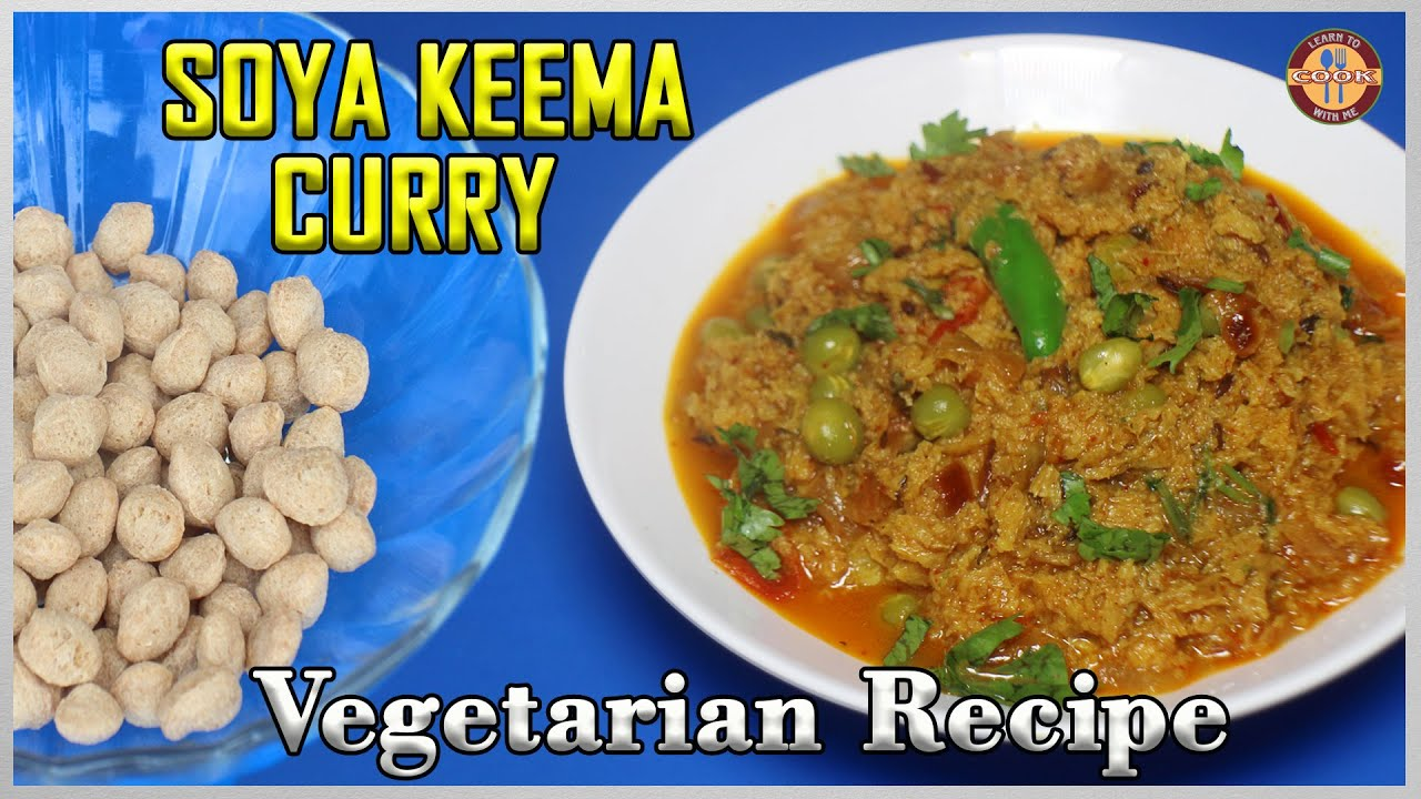 SOYA KEEMA CURRY | Soya Chunks That Can Substitute For Meat | TASTES LIKE MEAT | Do Try it!