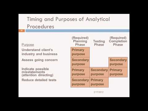 The Audit Process, Planning, and Risk Analysis - Prof. Helen Brown