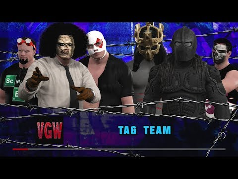 VGW: The Monsters Club vs. The Dangerous Alliance (WWE2K17)