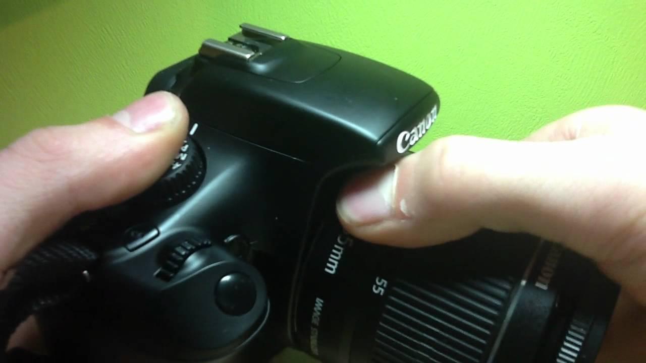 Objektiv bei Canon Spiegelreflex Kamera wechseln - so geht\'s - YouTube