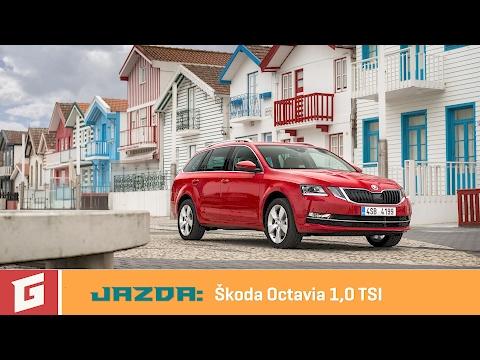 Škoda Octavia (facelift) 1,0TSI - prvá jazda - Garáž.TV