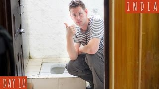 How to Use a Squat Toilet (in good taste) | DAY 10