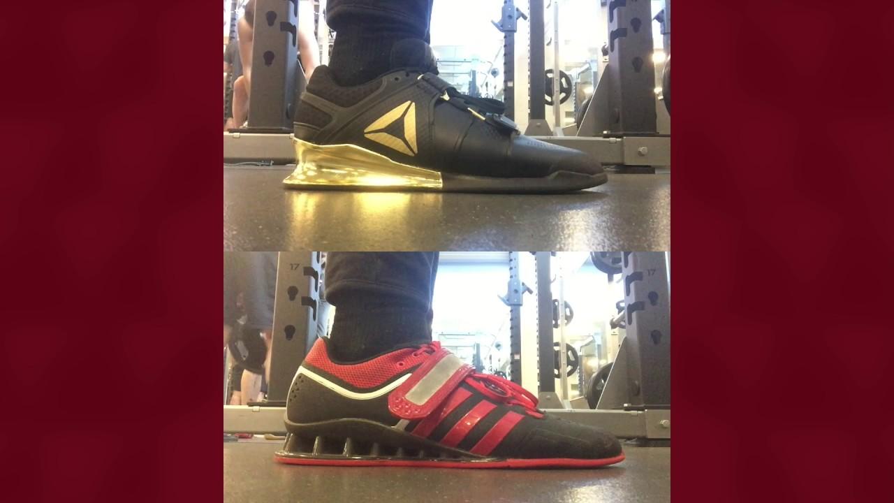 2cd040ecf577 DN Employee Ara Josefsson (Adidas Adipower vs Reebok Legacy)