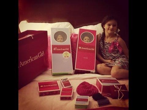 Birthday At ATLANTA American Girl Hotel Store And Bistro Salon