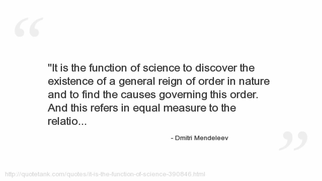 Dmitri mendeleev quotes youtube dmitri mendeleev quotes gamestrikefo Choice Image