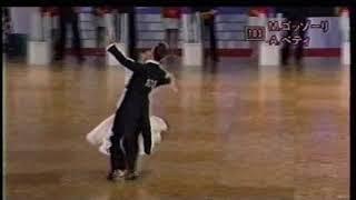 460 社交ダンス ウィンナーワルツ(Ballroom Dance Viennese Waltz)2006年第27回日本インター