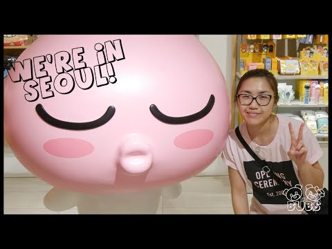TRAVEL TO SOUTH KOREA OPPAN BUBBY STYLE | The Bubs 01