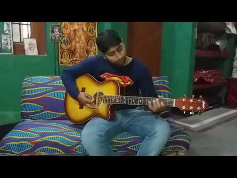 Aaj se teri ( Padman ) guitar tab tutorial by Deepak
