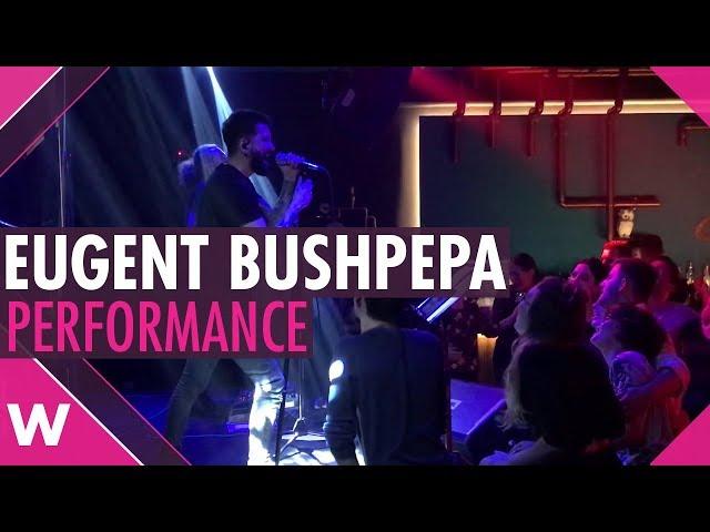 "Eugent Bushpepa ""Mall"" - Live @ Diesis Music Hall, Tirana | wiwibloggs"