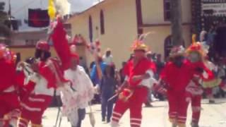 El Palmar Chichiquila Puebla. Danza Los Pilatos