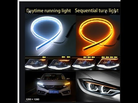 how to get and install (DRL) daytime Running light for Suzuki Honda Corolla or any