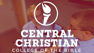 experiencing open arms at central christian college of the bible Central christian church: atlanta: georgia: professor of theology in the bible/theology department: manhattan christian college.