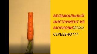 """""""Флейта"""" из моркови"""