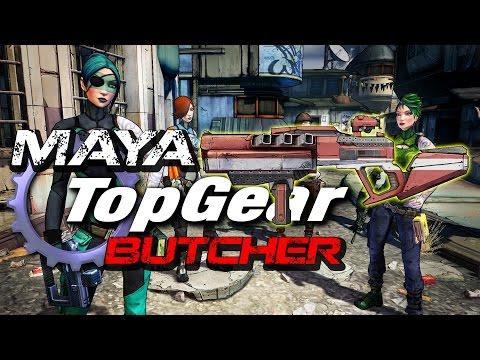Borderlands 2: Maya Top Gear - Butcher