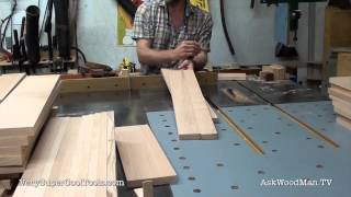 816. Cutting Drawer Stock To Length • Table Saw Work Station Series