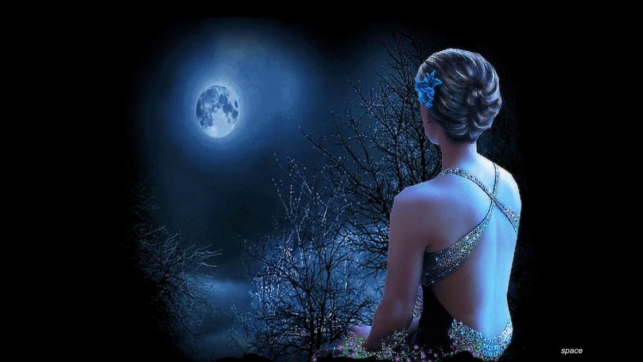 Лунный свет томно трепетен, тих -  Хрустальная грусть