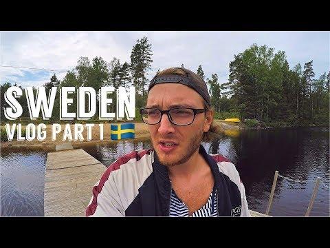 SVERIGE ADVENTURES - THE LARGEST SHOP IN SCANDINAVIA - SWEDEN (PART 1)    VLOG