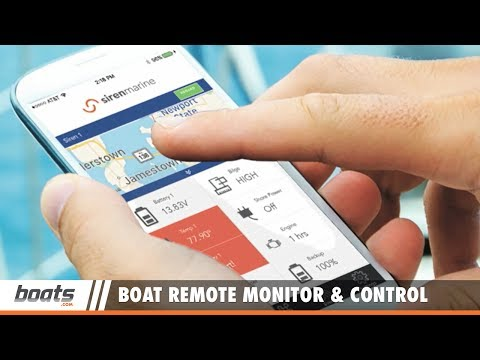 New Boat Remote Monitor and Control System: Siren Marine MTC